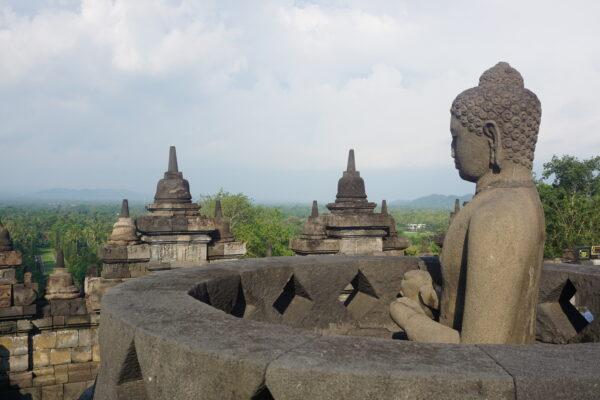 Indonesia, Borobudur Buddha