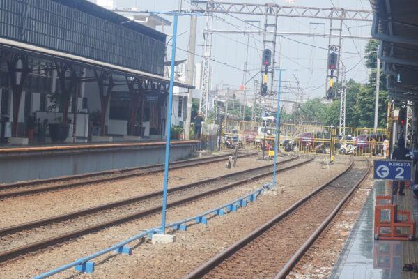 Indonesia - Jakarta, Train Station