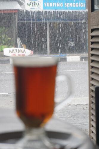 Indonesia - Senggigi, Raining