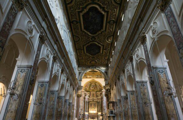 Inside Amalfi Cathedral