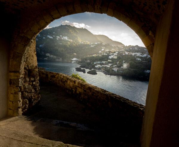 Ischia, Aragonese Castle Archway