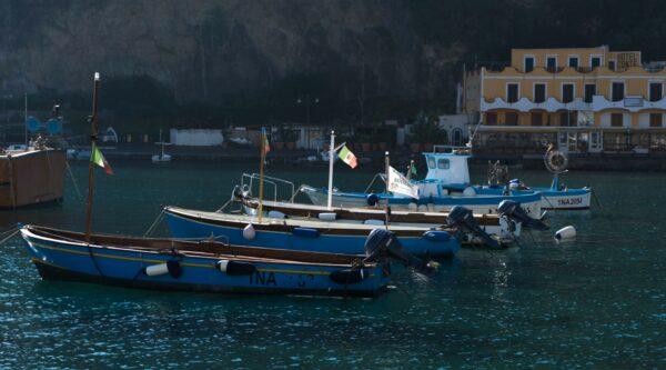Ischia - Port Of Sant Angelo
