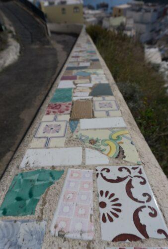 Ischia - Sant Angelo, Tiles