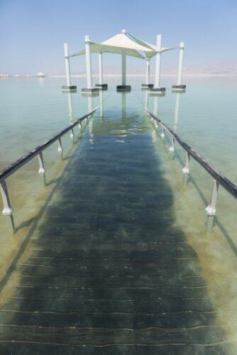 Israel - Dead Sea, Pavilion At Ein Bokek