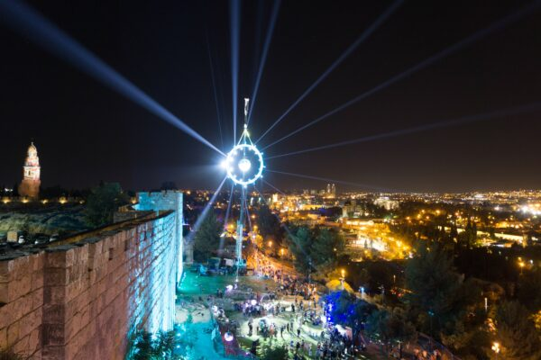 Israel, Festival Of Light In Jerusalem