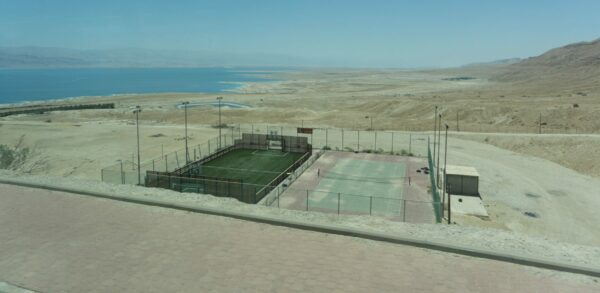 Israel, Soccer And Tennis Court