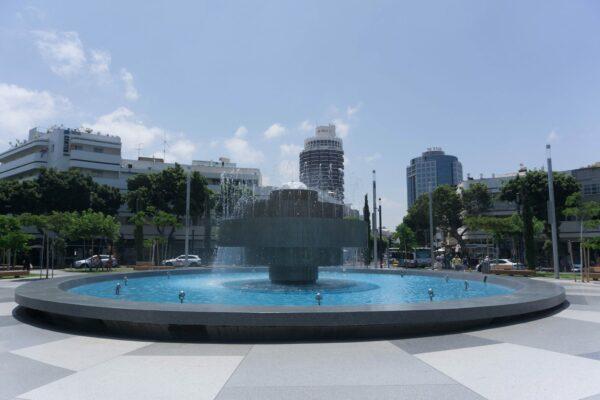 Israel - Tel Aviv, Dizengoff Square