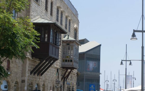 Israel - Tel Aviv, Houses At Jaffa Port
