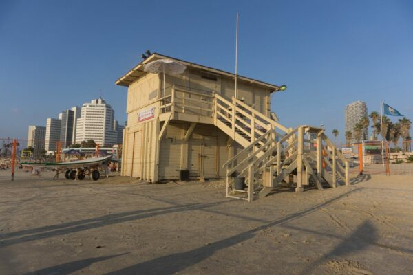 Israel - Tel Aviv, Lifeguard Tower
