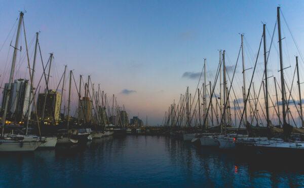 Israel, Tel Aviv Marina