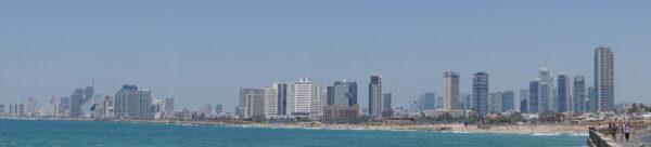 Israel - Tel Aviv, Skyline Panorama View