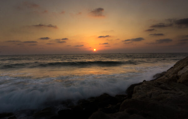 Israel, Tel Aviv Sunset