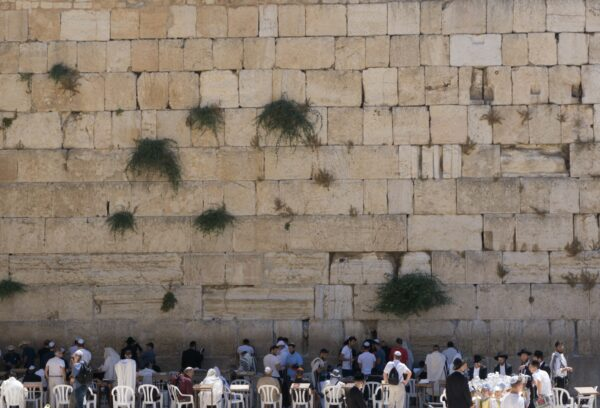 Israel, Western Wall At Jerusalem