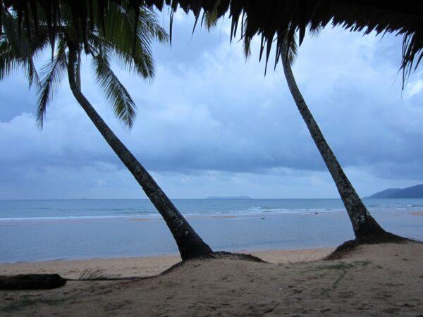 Malaysia - Tioman Island, Beach View