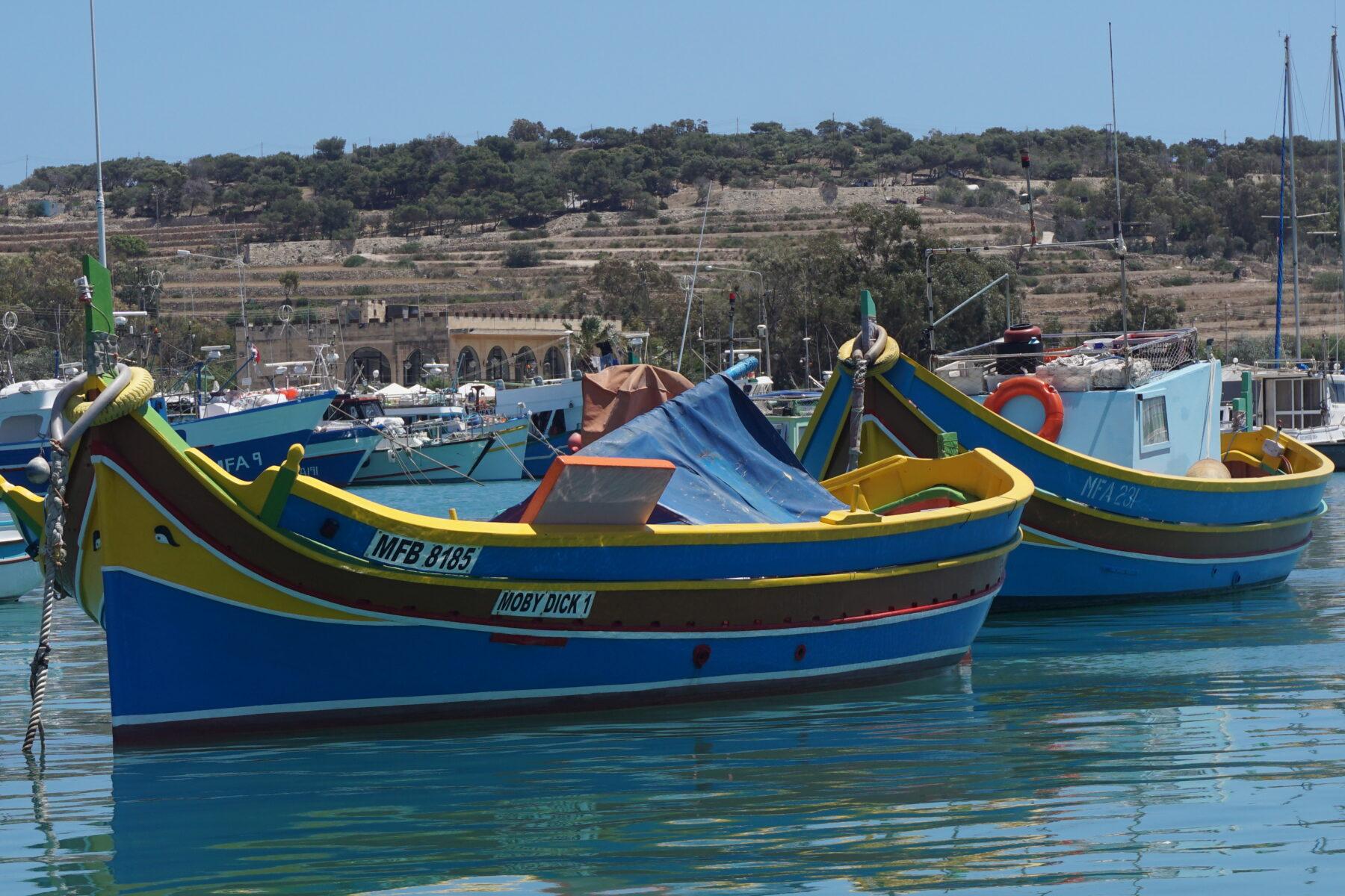 Malta, Colorful Boats