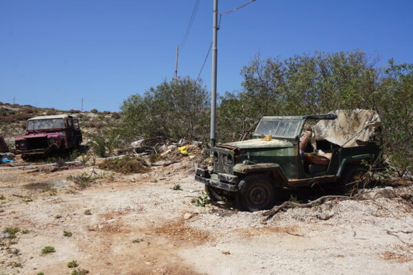 Malta - Comino, Damaged Cars