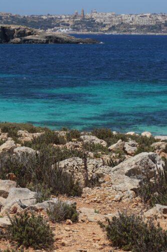 Malta - Comino, View To Gozo