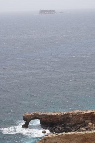 Malta - Hagar Qim, View To Filfa