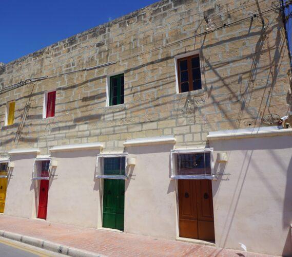 Malta - Marsaxlokk, House Front