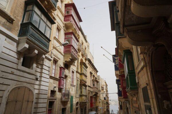 Malta - Valetta, Balconies