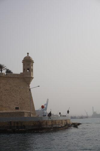 Malta - Valetta, Gardjola Tower