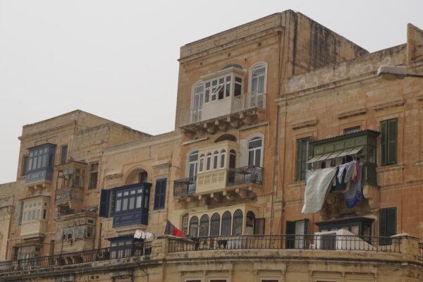 Malta - Valetta, House With Balcony