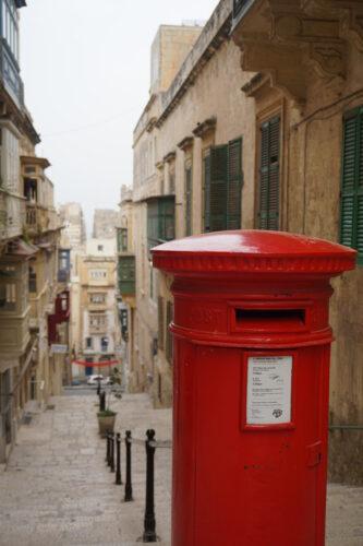 Malta - Valetta, Mailbox