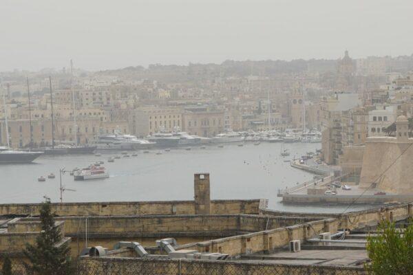 Malta - Valetta, Port View