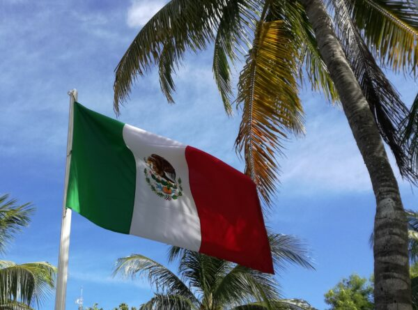 Mexico - Yucatan, Mexican Flag