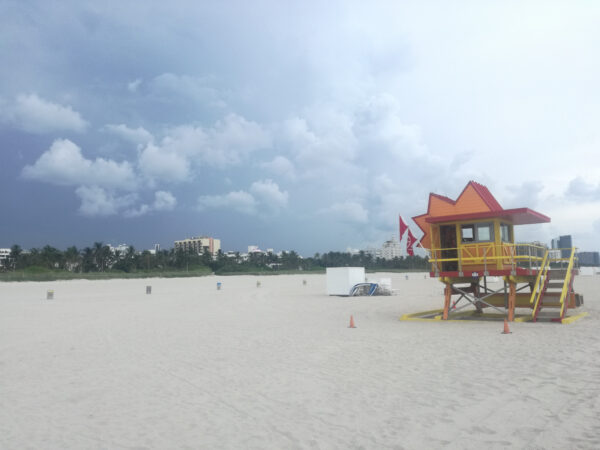 Miami Beach, Lifeguard Tower
