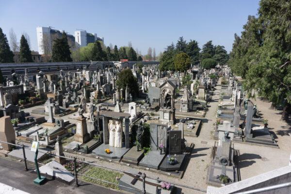 Milan, Cimitero Monumentale Tombstones