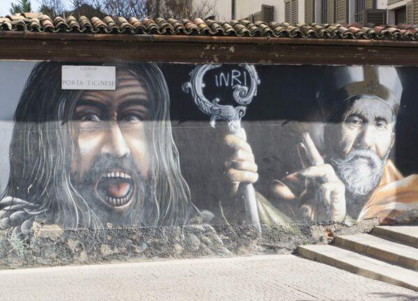 Milan, Graffiti At Corso Di Porta Ticinese