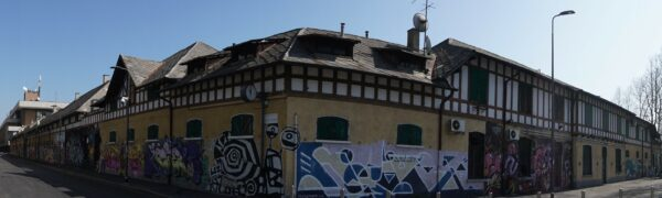 Milan, Graffiti Buildings