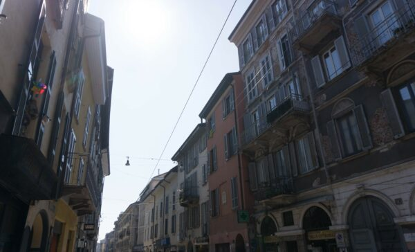Milan, Houses At Corso Di Porta Ticinese