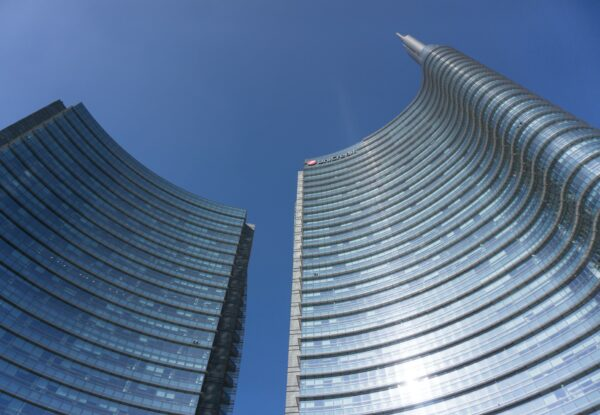 Milan, Torri Unicredit At Piazza Gae Aulenti
