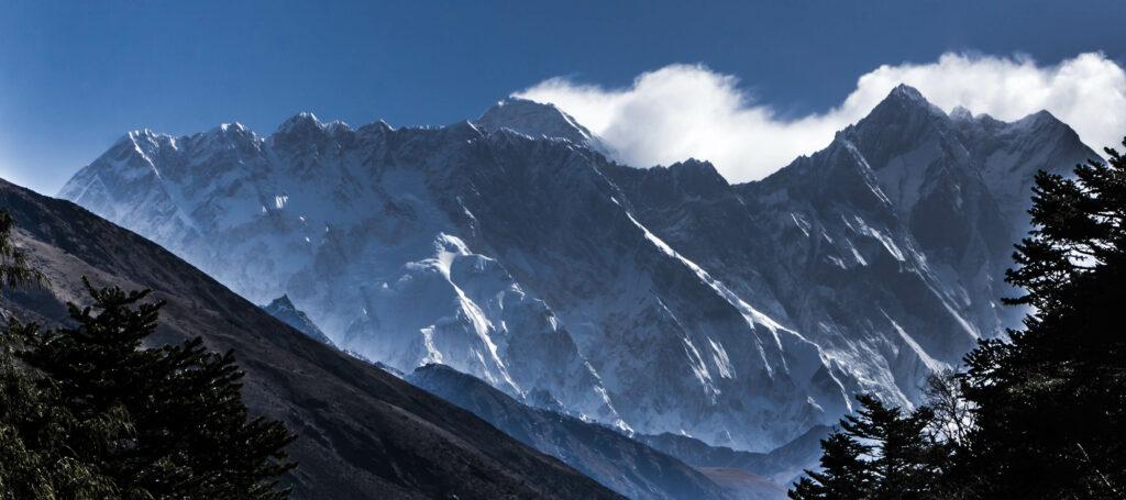 Everest and Lhotse summit