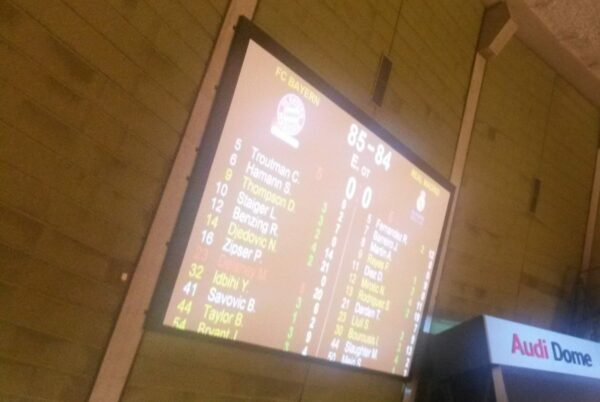 München - Audi Dome, Results Bayern Vs. Real Madrid