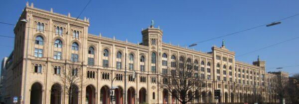 München, Regierungsgebäude Von Oberbayern