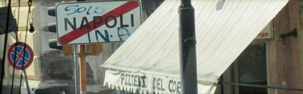 Napoli, Entrance Sign