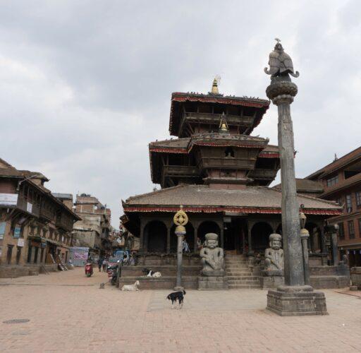 Nepal, Dattatreya Temple At Bhaktapur