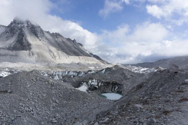 Nepal, Glacier Lake