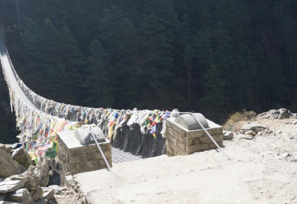 Nepal, Hillary Suspension Bridge