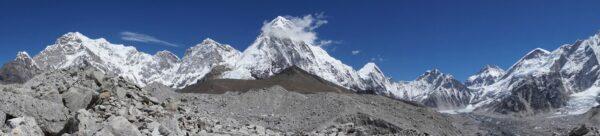 Nepal, Himalayan Panorama View