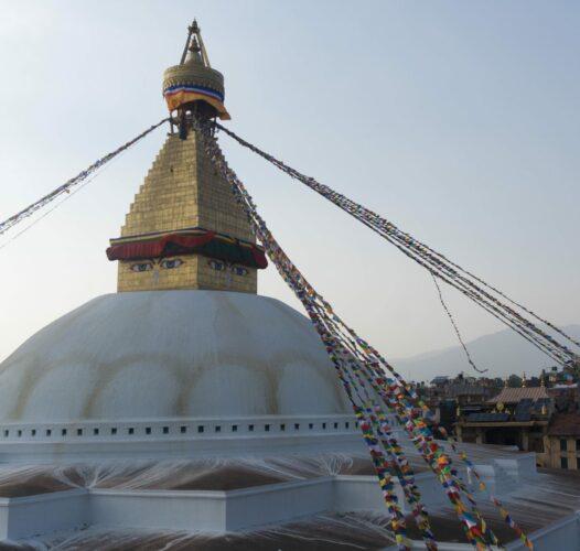 Nepal - Kathmandu, Bhoudanath Stupa