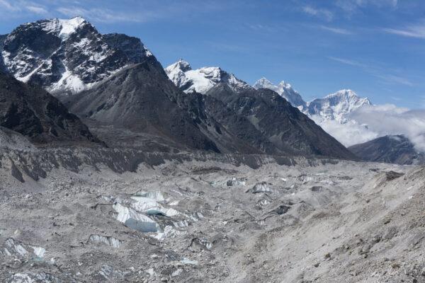 Nepal, Khumbu Glacier