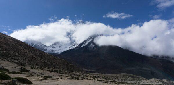 Nepal, Landscape And Mountain Panorama
