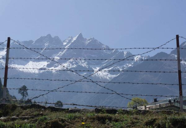 Nepal - Lukla, View To Mountains