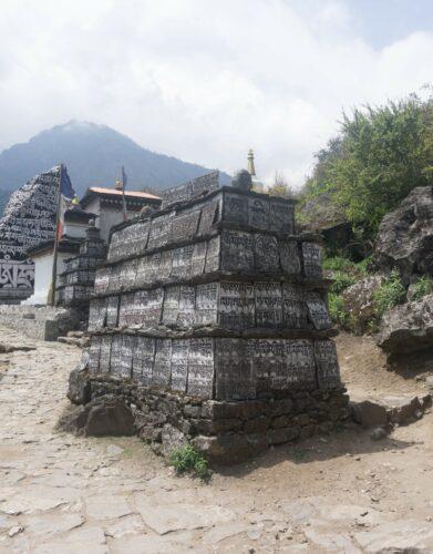 Nepal Mani Stones