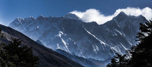Nepal, Mount Everest And Lhotse Summit