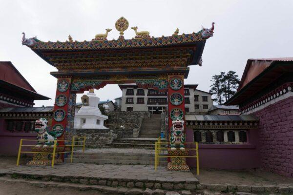 Nepal, Tengboche Monastery